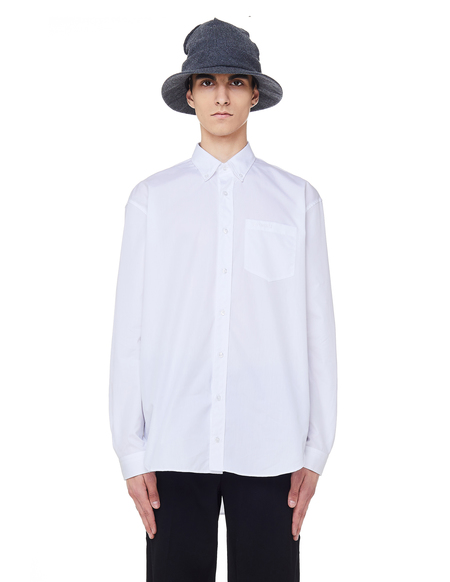 Vetements Cotton Don't Be Evil Shirt - White
