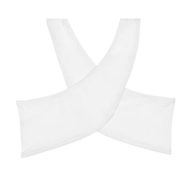 BETH RICHARDS T.H.P. Wrap Top - White WRAP TOP
