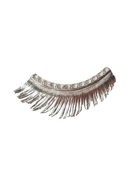 MIRIT WEINSTOCK EYELASH EARRING - Sterling Silver
