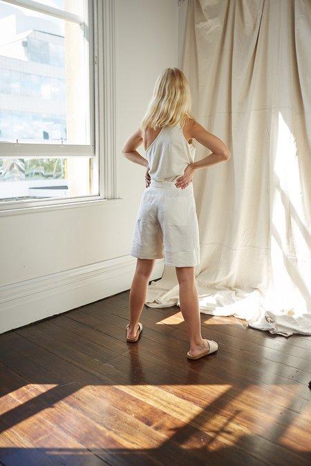 Mina Mali Shorts - Cream