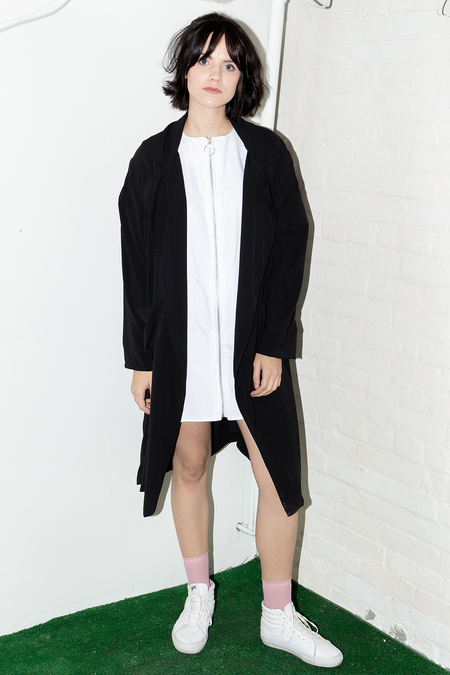 Bodega Thirteen Hannah Jacket Dress - White