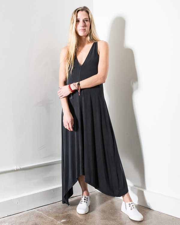 34N 118W 34Nº 118Wº Mateo Jersey Maxi Dress