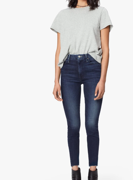 Mother Denim Mother The High Waisted Looker - Tongue in Chic