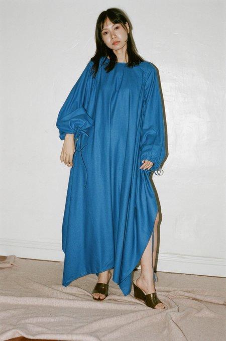 Baserange Honda Dress - Aster Blue