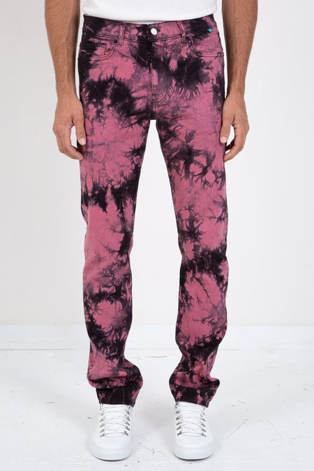 Sync Denim TIE DYE DENIM - Pink