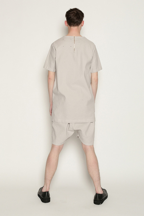 Men's Tourne De Transmission Kogi Baseball Top in Warm Grey