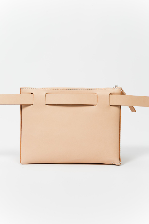 Building Block Beltpack in Nude