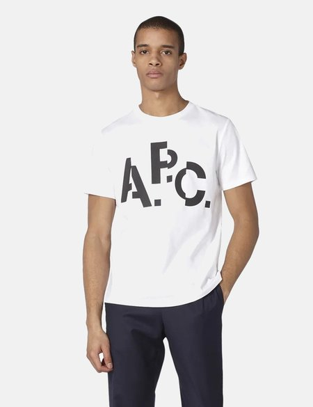 A.P.C. Misaligned T-Shirt - White