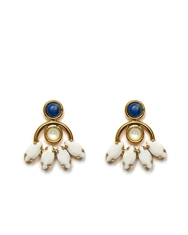 Lizzie Fortunato Oaxaca Blossom Earrings