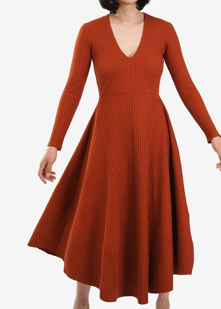 Wray Molly Dress - Terracotta