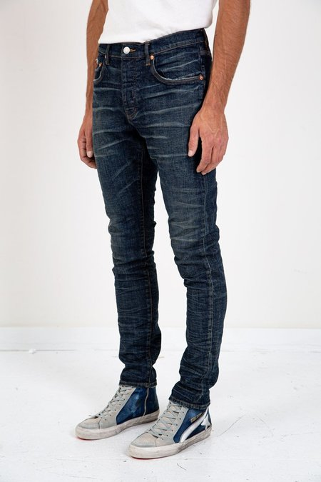 Purple SLIM FIT VINTAGE VENUS WASH - DARK