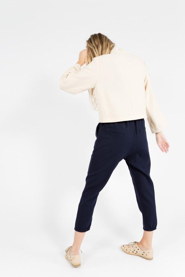 Nomia Cropped Long Sleeve Mockneck