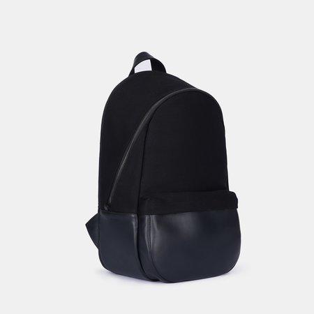 Haerfest Travel  Large Cotton Twill Backpack - black
