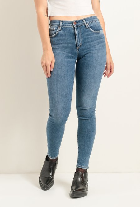 AGOLDE Sophie Mid Rise Ankle Jean - Tame