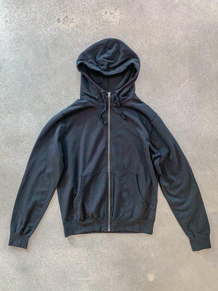 Save khaki United Supima Fleece Zip Hooded Sweatshirt - Black