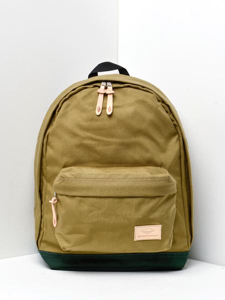 Battenwear Battenpack Backpack - Khaki/Forest Green