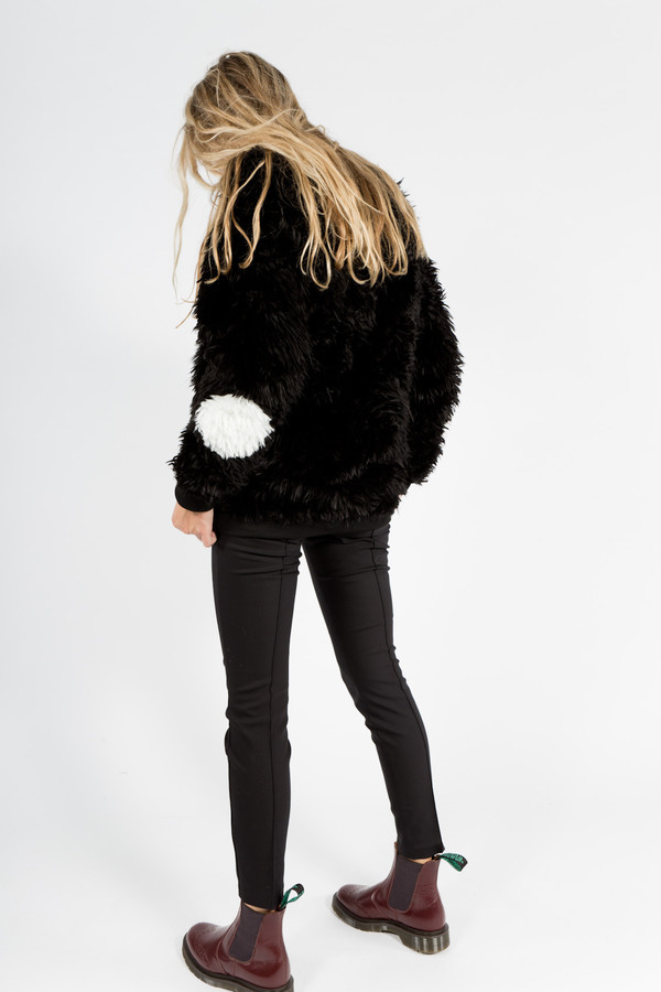 Samuel James Faux Fur Sweater