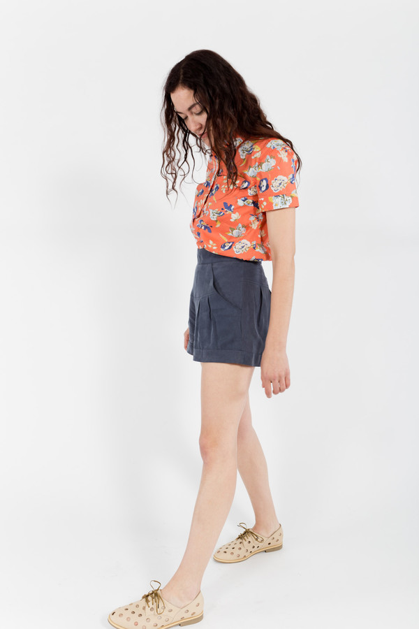 7115 by Szeki High Waisted Shorts