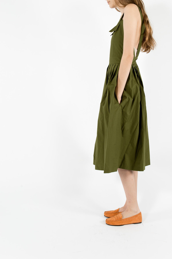 Maison Kitsune Iris Long Dress