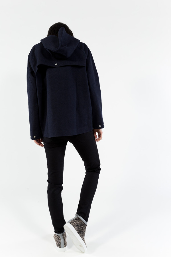 Norse Projects Magnhild Wool Rain Jacket