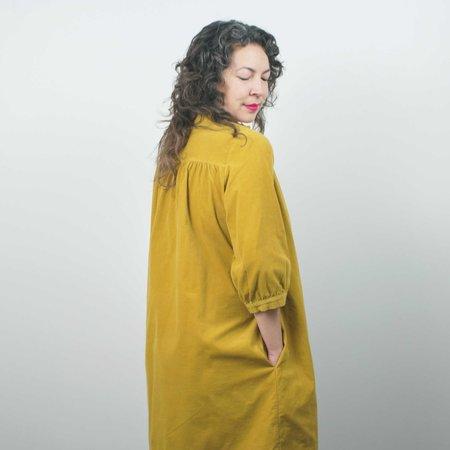 Sugar Candy Mountain Sabine Dress - Turmeric