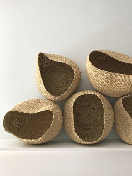 twenty one tonnes organic round basket - natural