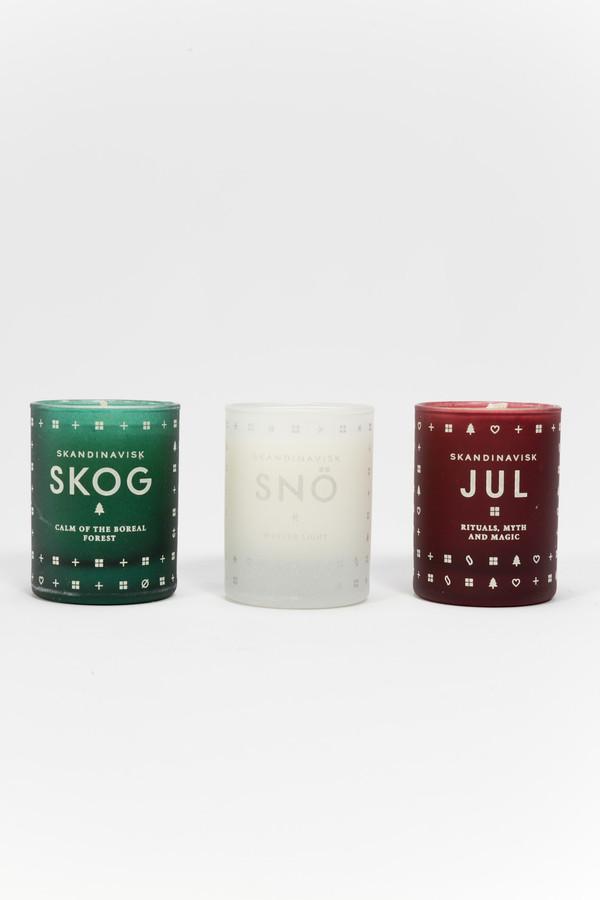 Skandinavisk Mini Candles Holiday Set
