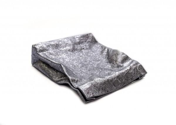 Marie Turnor Picnic Clutch - Tin Foil