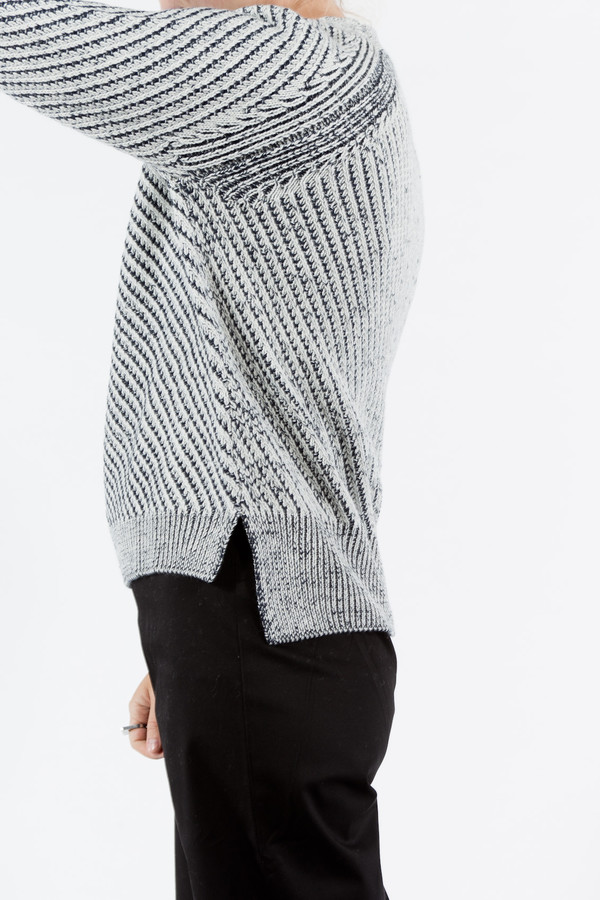 Le Mont St. Michel Plaited Sweater