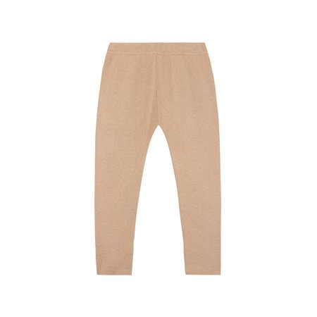 kids le petit germain Emile Knit Pant - Powder