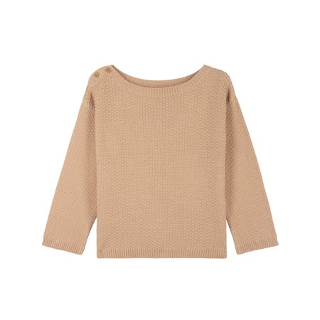 kids le petit germain Fjord Sweater - Powder