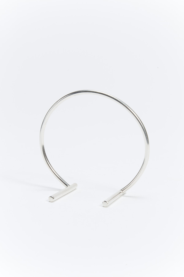 Another Feather Rim Arm Band Sterling Silver