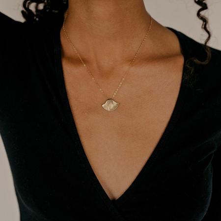 Mountainside Made Uluit Necklace - 14K Gold Filled