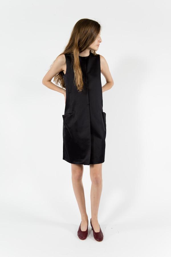 Trademark Satin Pocket Dress