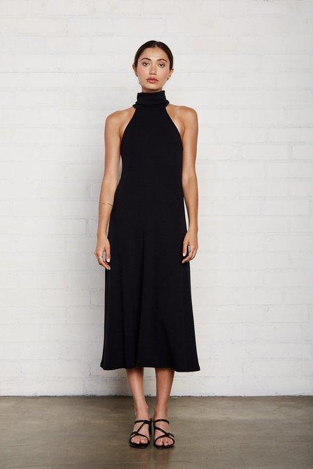 Rachel Pally Luxe Rib Alondra Dress - Black