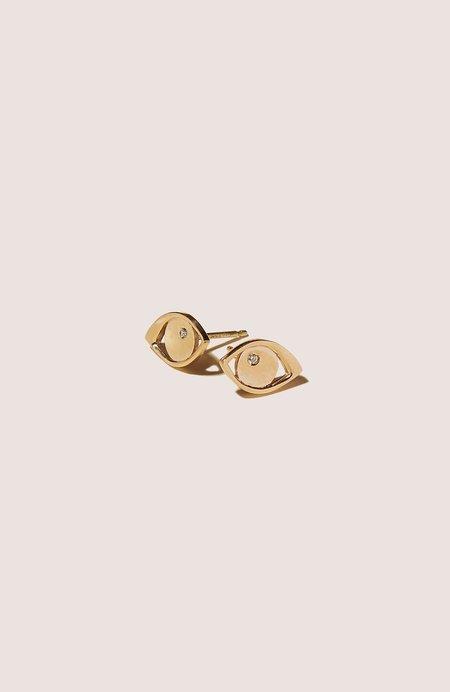 KORE SWIM Greek Eye Earrings