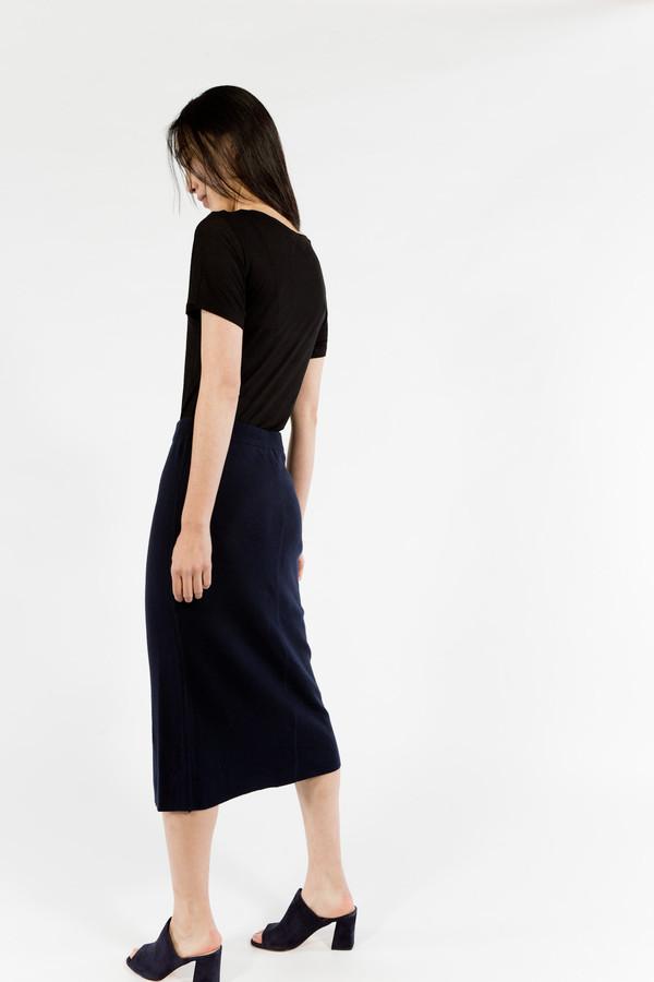 Le Mont St. Michel Wool Skirt