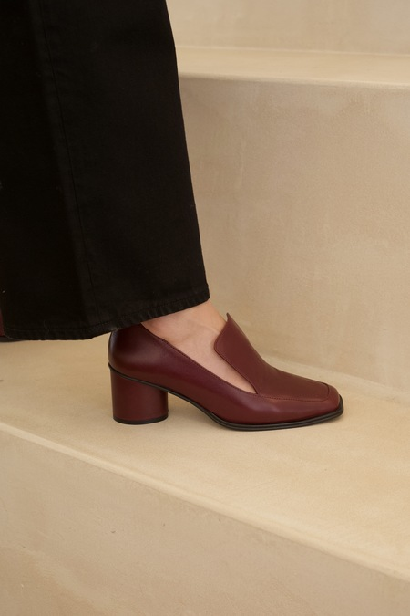Anne Thomas Simon Moc. - Nappa Bordeaux