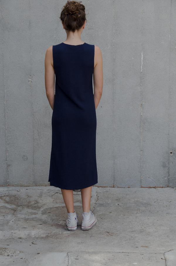 Ali Golden V-NECK SWEATER DRESS