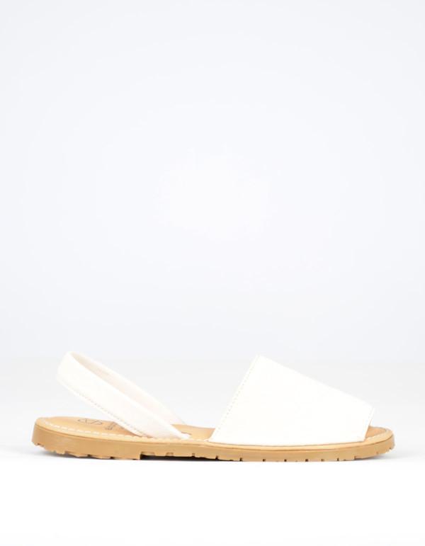 Alejandrina's Menorca Sheep Leather Shoe Ivory