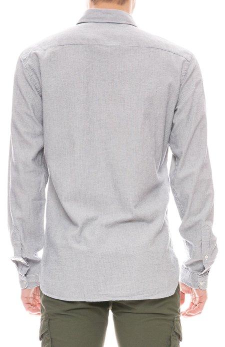 Oliver Spencer Special Striped Pocket Shirt - Navy