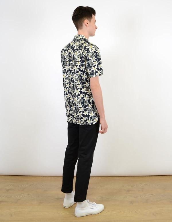Barney Cools Miami SS Shirt Navy Floral