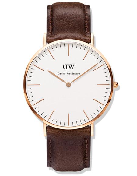 Daniel Wellington Bristol Watch Rose Gold 36mm