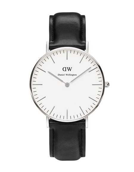 Daniel Wellington Sheffield Watch Silver 36mm