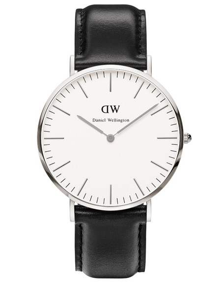 Daniel Wellington Sheffield Watch Silver 40mm