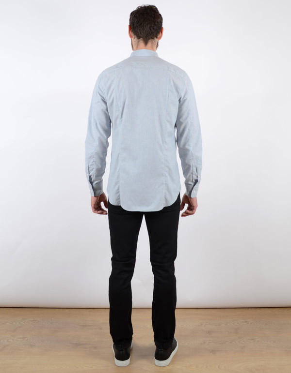 Filippa K Paul Shirt Light Blue Melange