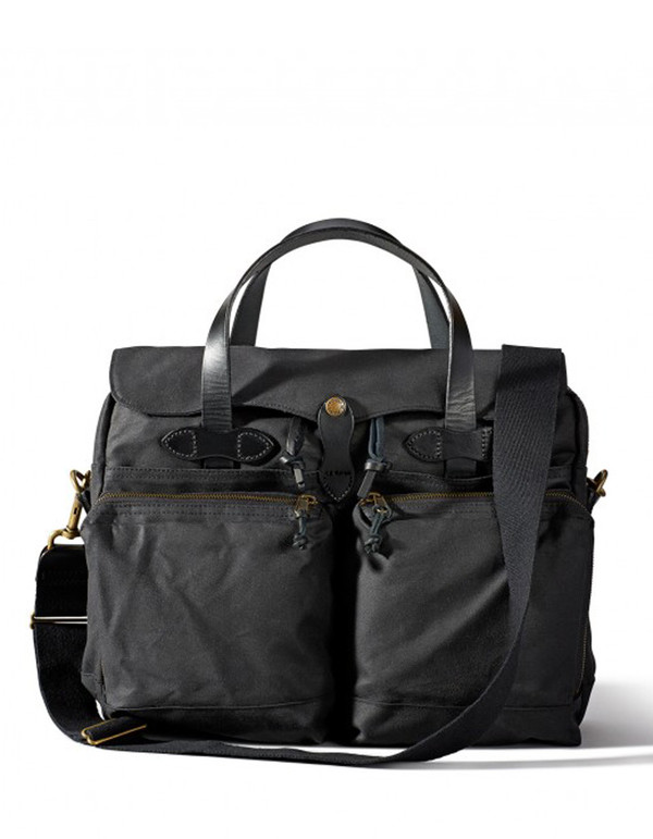 Filson 24 Hour Tin Briefcase Black