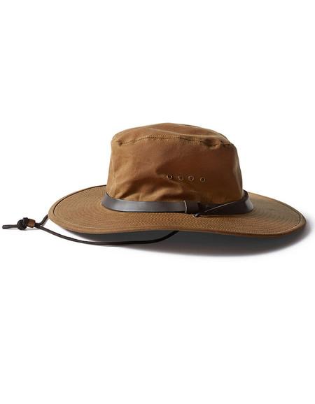 Filson Tin Cloth Bush Hat Tan