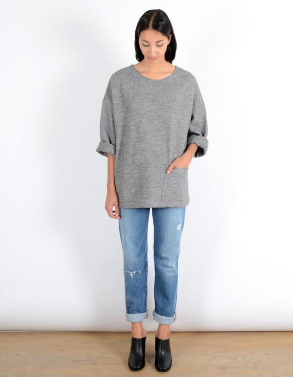 First Rite Box Sweater Grey