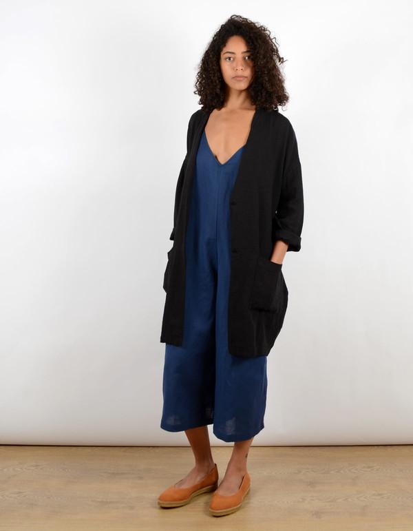 First Rite Day Robe Black
